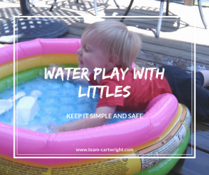 Water Play With Littles