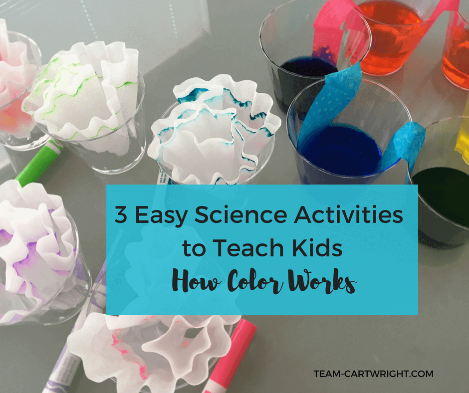 STEM Color Activities: Easy Science Activities To Teach Kids About Color