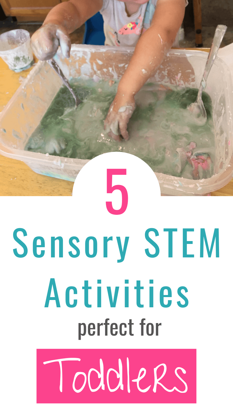 Simple Sensory Stem Activities For Toddlers And Preschoolers